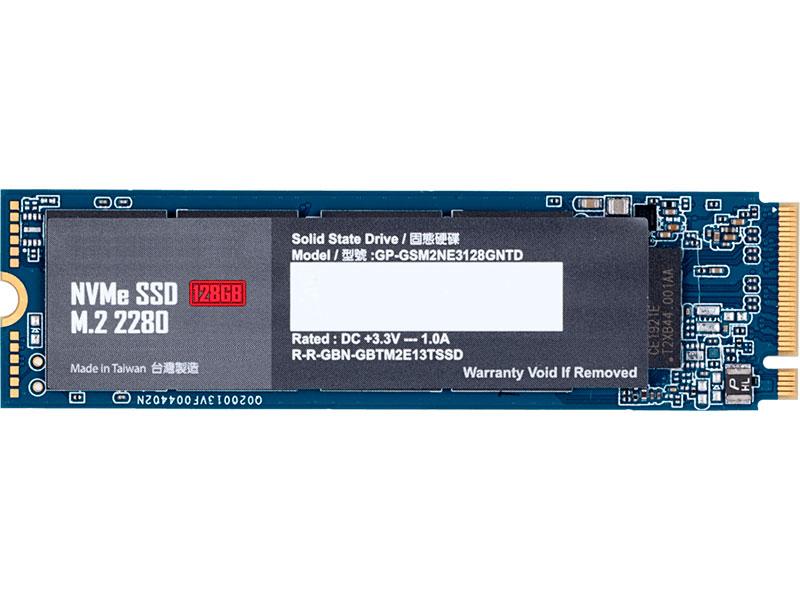 Твердотельный накопитель GigaByte 128Gb GP-GSM2NE3128GNTD