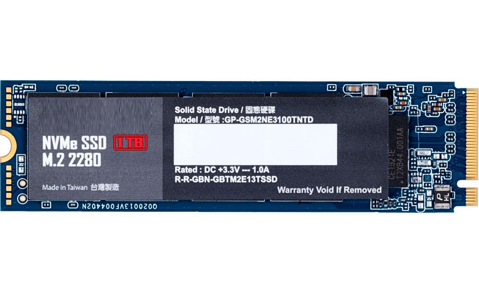 Жесткий диск GigaByte 1Tb GP-GSM2NE3100TNTD