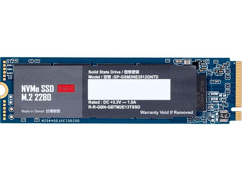 Жесткий диск GigaByte 512Gb GP-GSM2NE3512GNTD