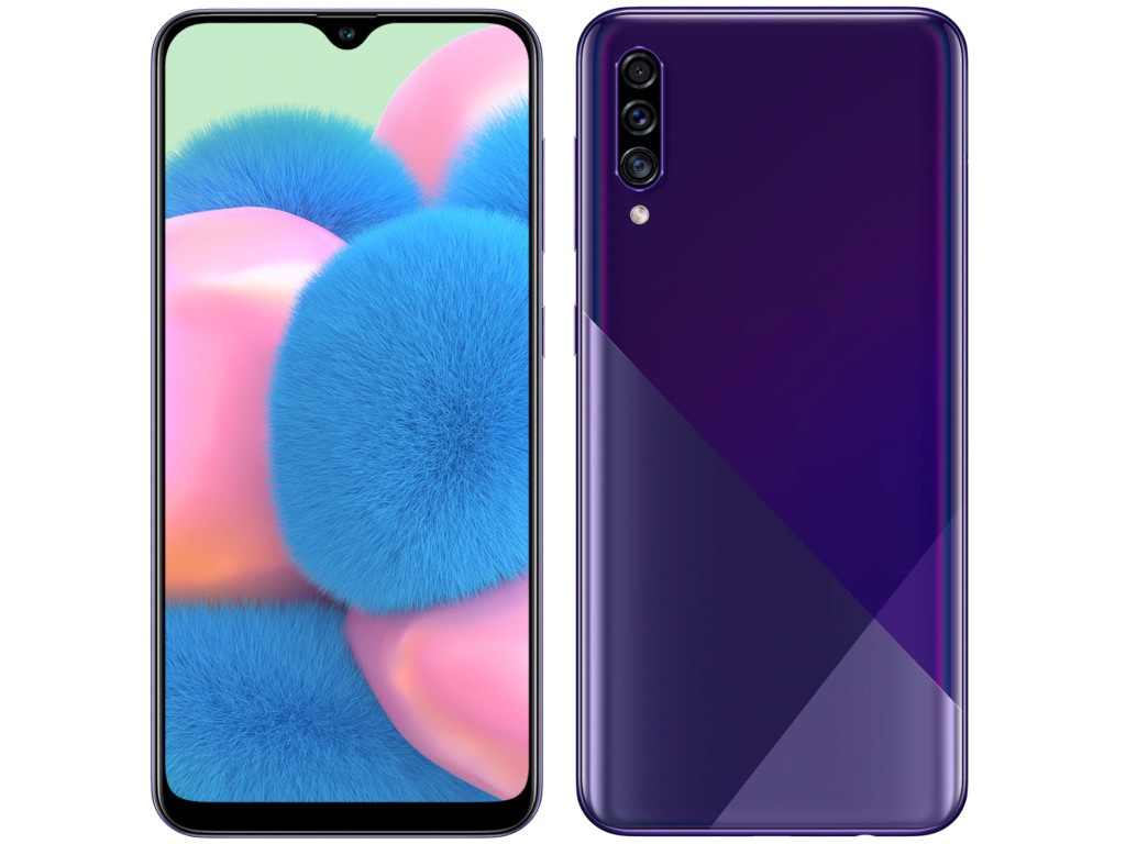 Сотовый телефон Samsung SM-A307F Galaxy A30s 3Gb/32Gb Violet New Выгодный набор + серт. 200Р!!! сотовый телефон zte blade v9 3gb ram 32gb gold