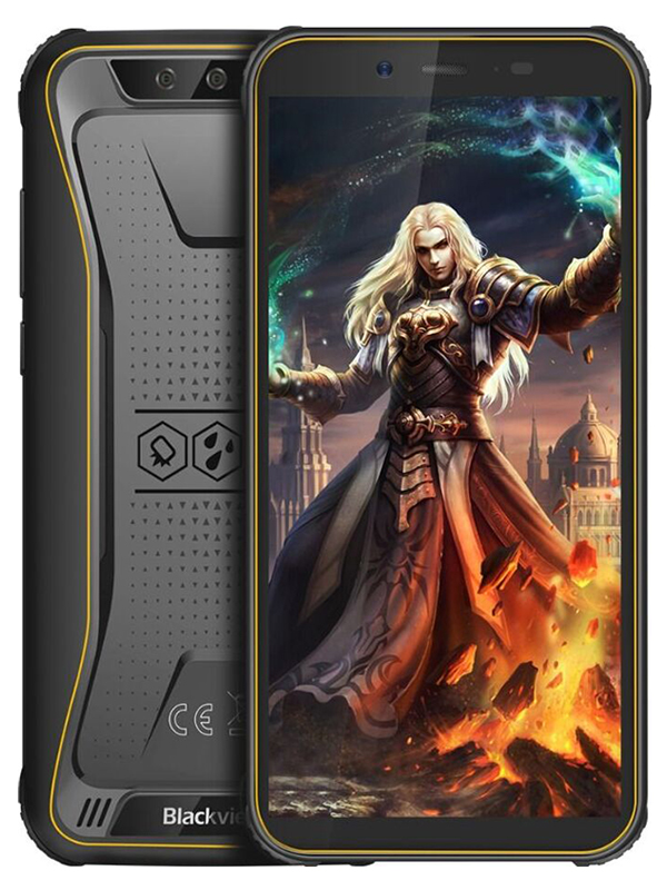 Сотовый телефон Blackview BV5500 Black-Yellow