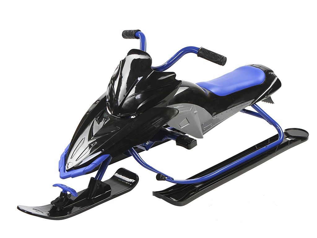 Снегокат Yamaha Apex Snow Bike Titanium Black-Blue YM13001