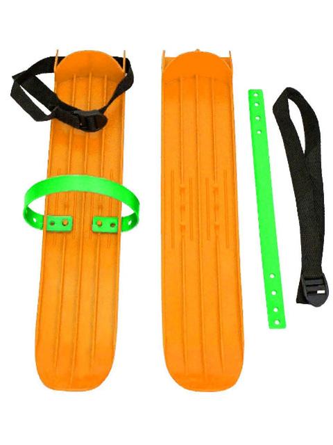 Лыжи Тяни-толкай Р-1 малые с ремнями Orange