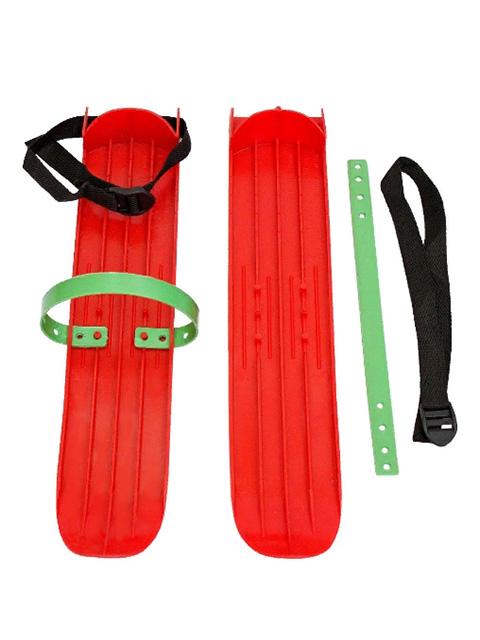 Лыжи Тяни-толкай Р-1 большие с ремнями Red