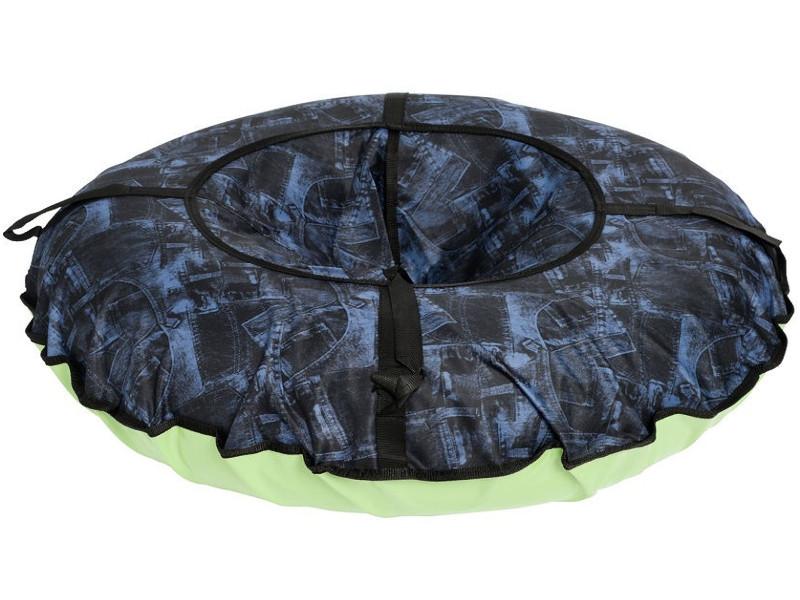 Тюбинг Бисиклета Джинс 110cm Blue-Black