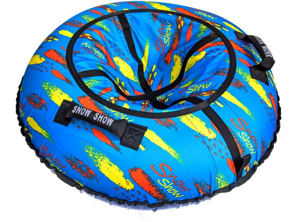Тюбинг RT Краски на голубом 118cm + автокамера