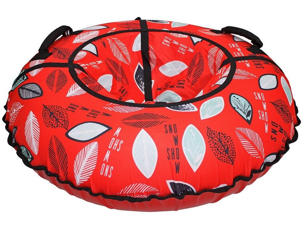 Тюбинг RT Листья на красном 105cm + автокамера