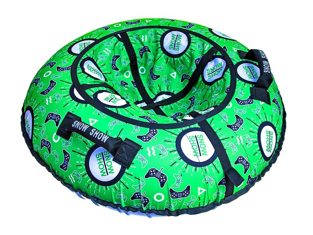 Тюбинг RT Джойстики на зелёном 105cm + автокамера