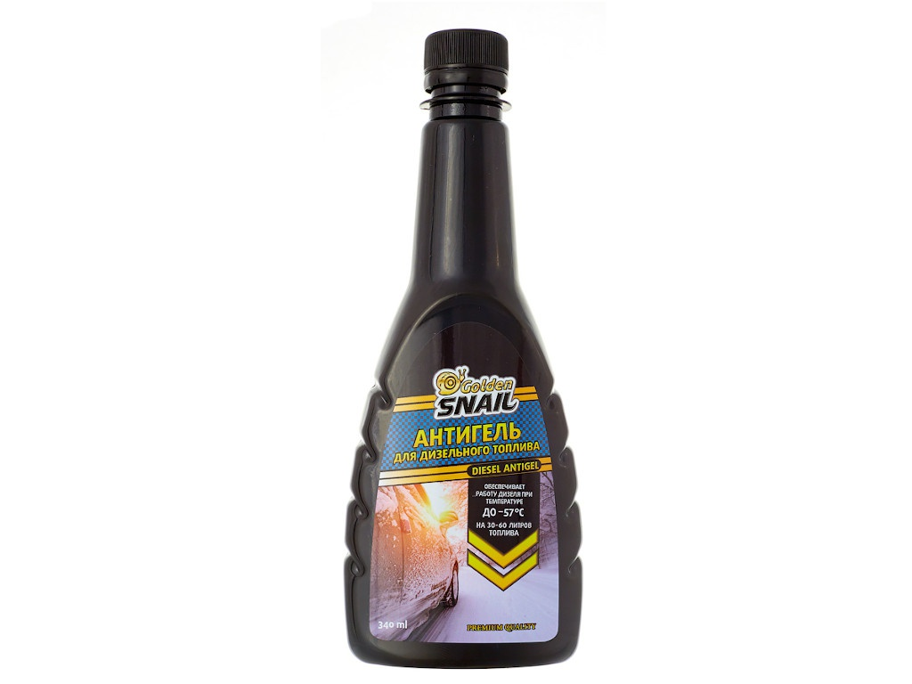Антигель дизельного топлива Golden Snail 340ml GS 5002 цена