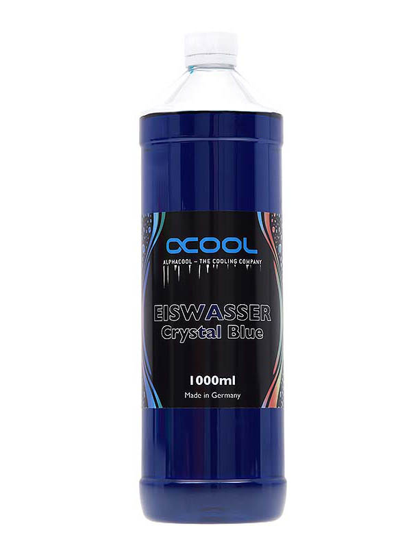 Охлаждающая жидкость Alphacool Eiswasser Crystal Blue UV-active 1000ml 18543/1012560