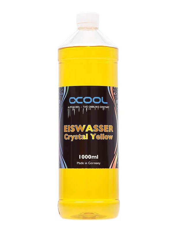 Охлаждающая жидкость Alphacool Eiswasser Crystal Yellow 1000ml 18546/1014013