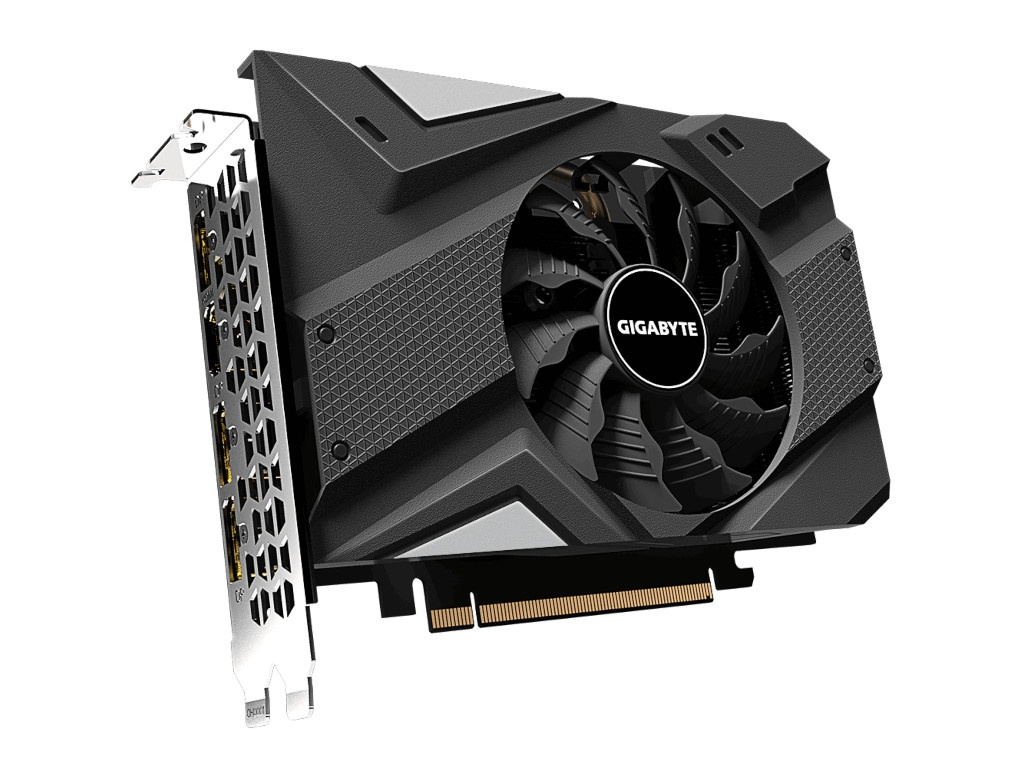 Видеокарта GigaByte GeForce GTX 1660 Super Mini ITX OC 6G 1800Mhz PCI-E 3.0 6144Mb 14000Mhz 192 bit HDMI DPx3 GV-N166SIXOC-6GD