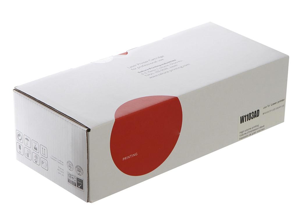 Картридж Sakura SAW1103AD Black для HP Neverstop Laser 1000a/1000w/MFP 1200a/MFP 1200w