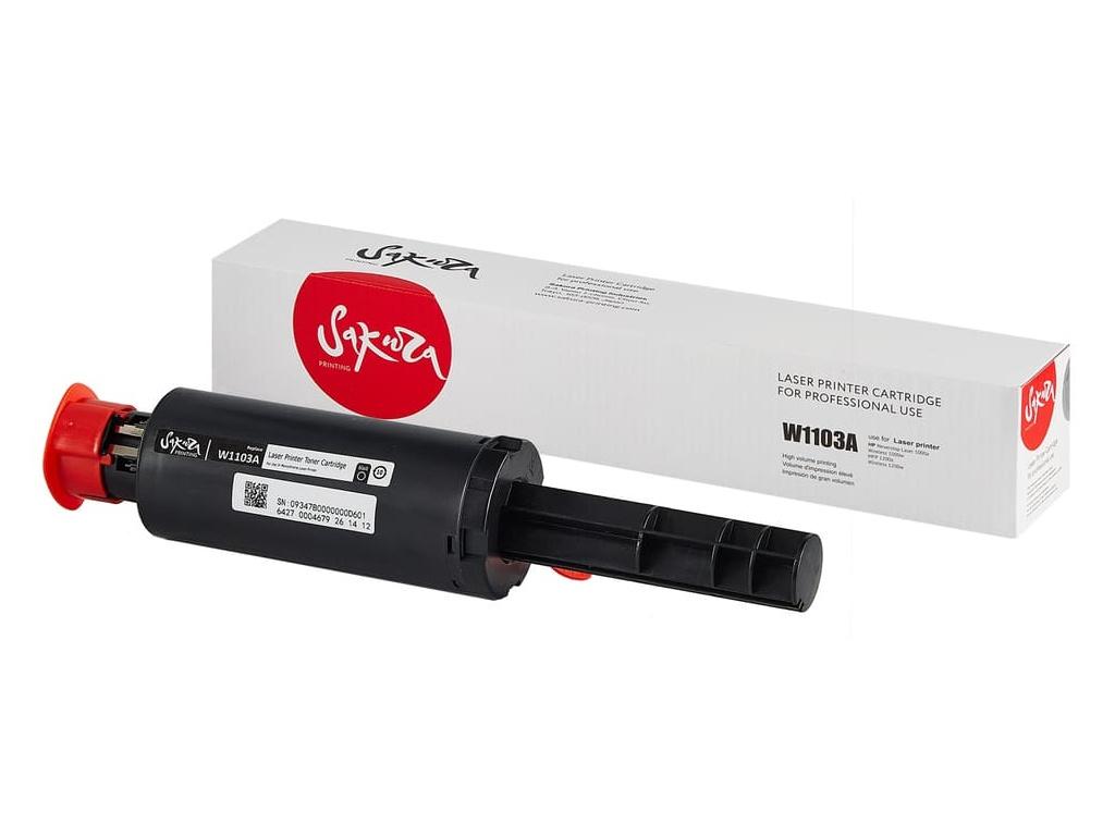Картридж Sakura SAW1103A Black для HP Neverstop Laser 1000a/1000w/MFP 1200a/MFP 1200w