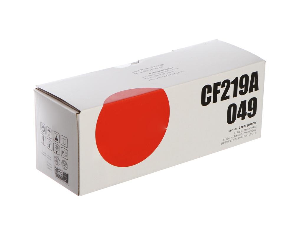 Фотобарабан Sakura CF219A/049 для HP LJ Pro m104a/m104w/m132a/m132fn/m132fw/m132nw/Canon LBP110/112/113/MF110/112/113