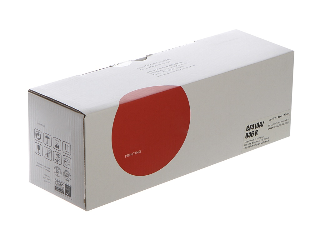 Картридж Sakura SACF410A/046BK Black для HP LaserJet Pro M452nw/M452dn/M477fnw/M477fdw/M477fdn/M377dw/Canon i-Sensys LBP653Cdw/LBP654Cx/MF732Cdw/MF734Cdw/MF735Cx