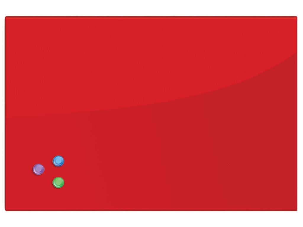 Доска магнитно-маркерная Brauberg 40x60cm Red 236746