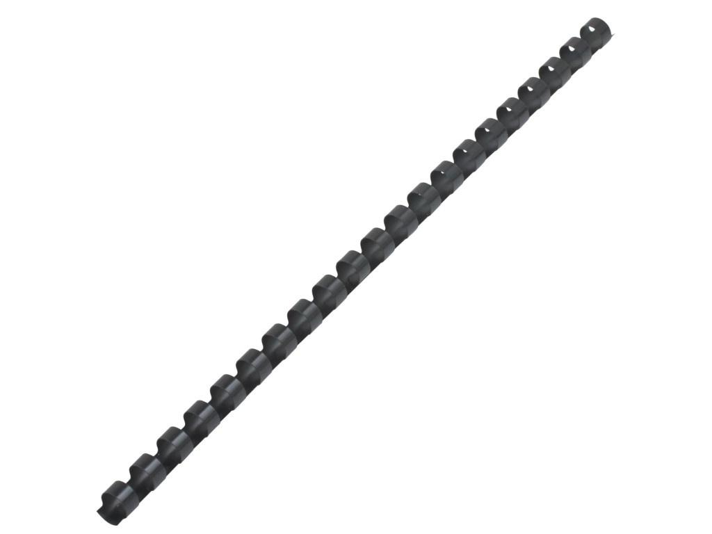 Пружины для переплета Brauberg 100шт 10mm Black 530813