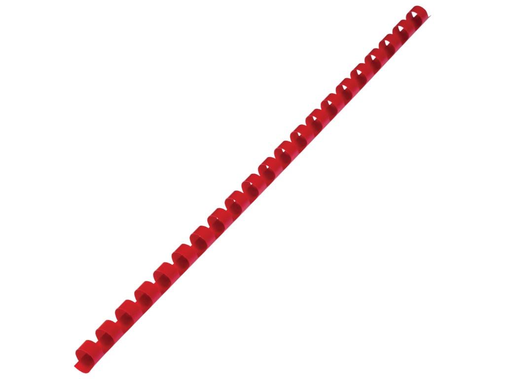 Пружины для переплета Brauberg 100шт 10mm Red 530910