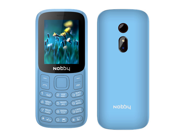 Сотовый телефон Nobby 120 Light Blue