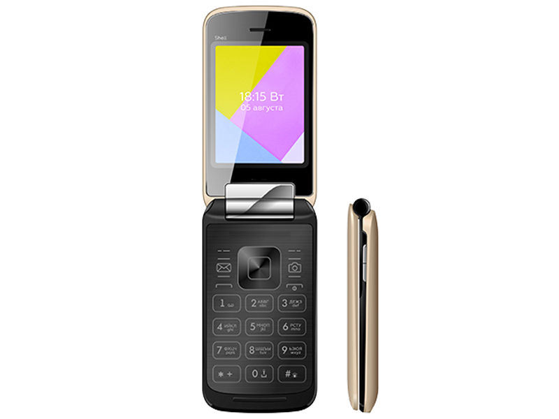 Сотовый телефон BQ 2816 Shell Gold