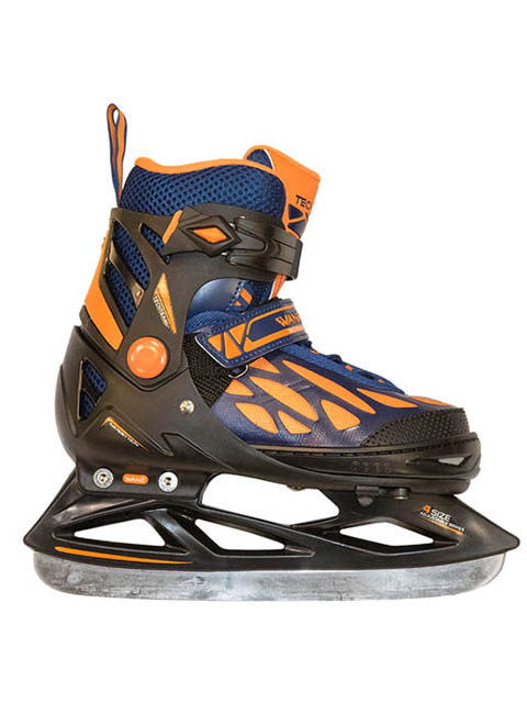 Коньки Tech Team WAN2 Boy 2020 р.31-34 Black-Orange