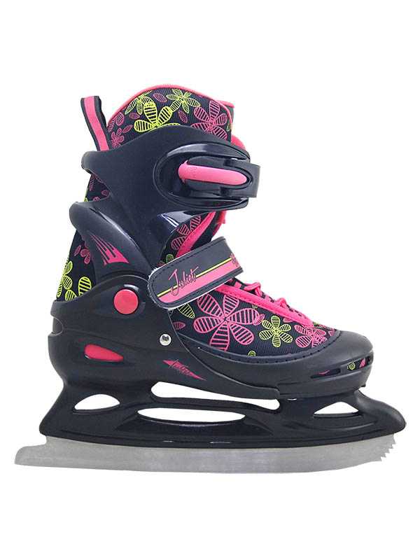 Коньки Tech Team Juliet 2020 р.34-37 Black-Pink
