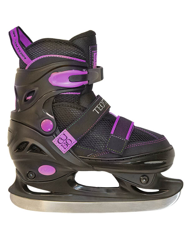 Коньки Tech Team Cubo Girl 2020 р.31-34 Black-Purple