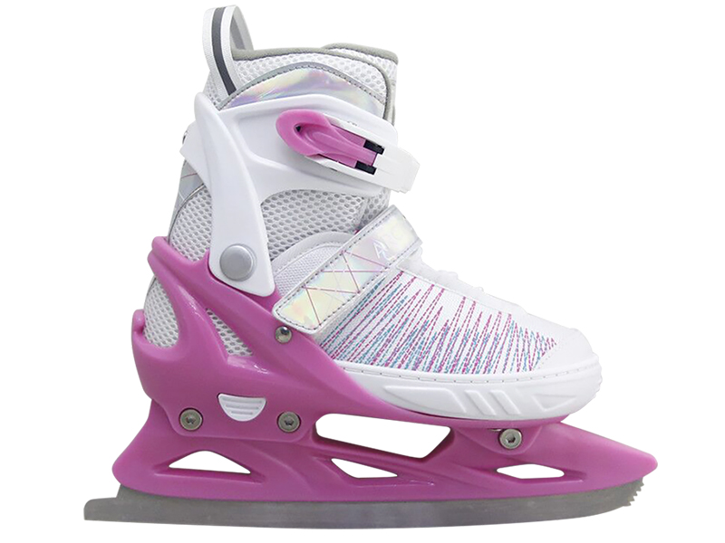 Коньки Tech Team Arctic Girl 2020 р.33-36 White-Pink