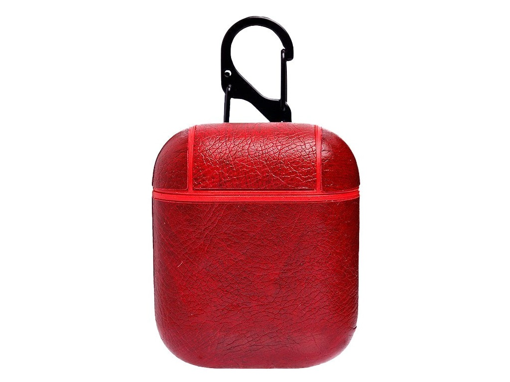 Чехол Activ Leather для APPLE AirPods Red 91475