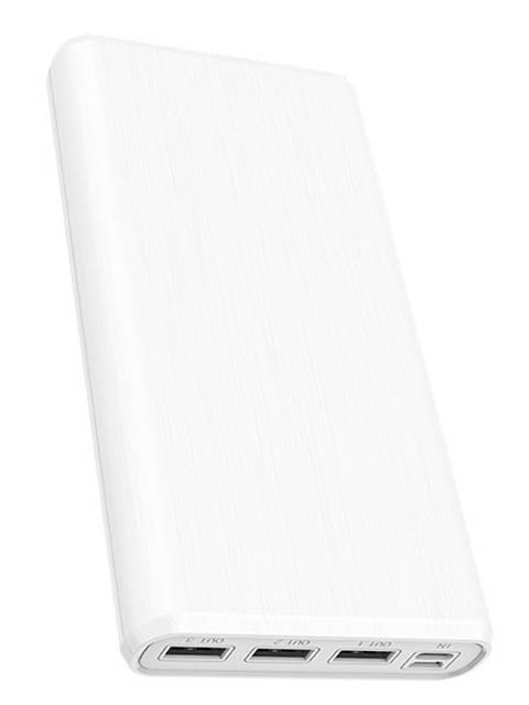 Внешний аккумулятор Borofone Power Bank BT2D Fullpower 30000mAh White