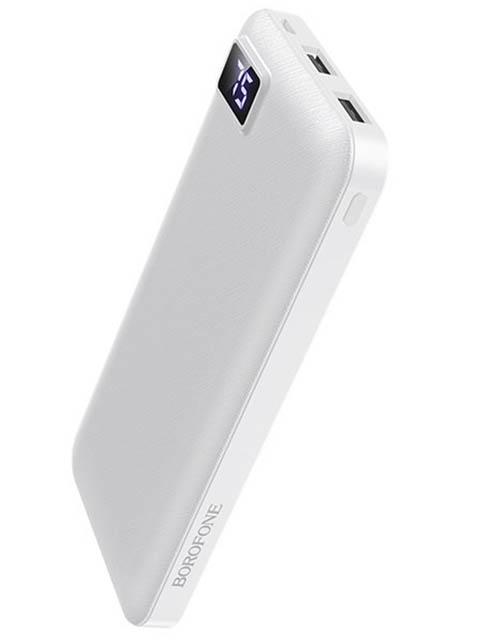 Внешний аккумулятор Borofone BT22 10000 mAh White
