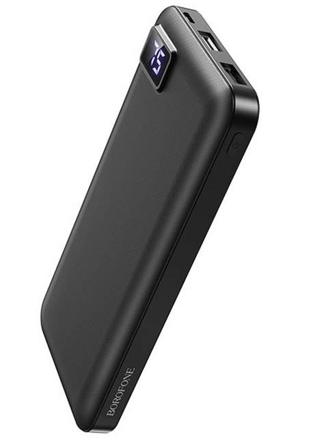 Внешний аккумулятор Borofone BT22 10000 mAh Black