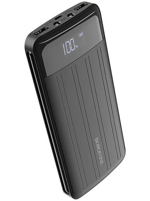 Внешний аккумулятор Borofone BT21A Universal energy 20000 mAh Black