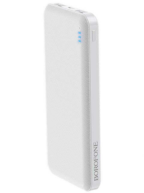 Внешний аккумулятор Borofone Power Bank BT20 Powerful 10000mAh White