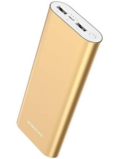 Внешний аккумулятор Borofone Power Bank BT19B Universal 20000mAh Gold
