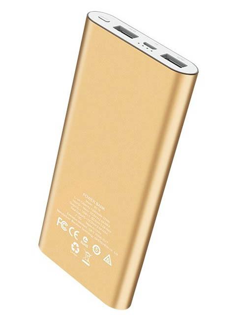 Внешний аккумулятор Borofone Power Bank BT19A Universal 15000mAh Gold