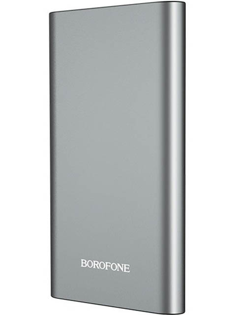 Внешний аккумулятор Borofone Power Bank BT19 Universal 10000mAh Metal Grey