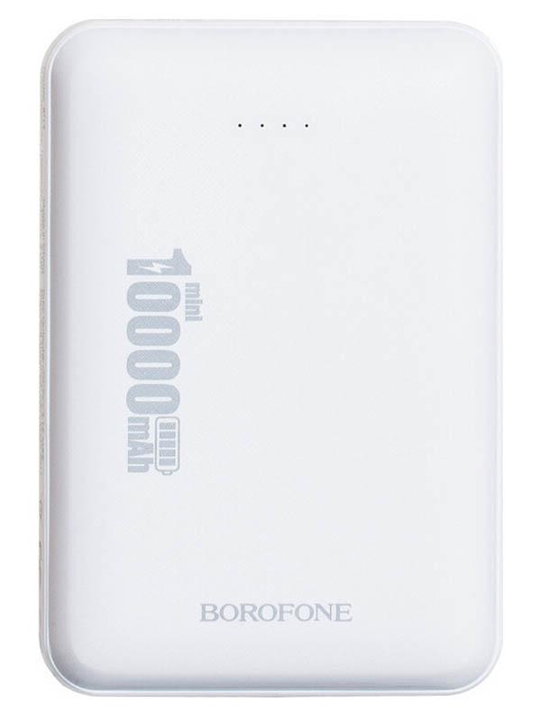 Фото - Аккумулятор Borofone BT13 Minipower 10000mAh White аккумулятор