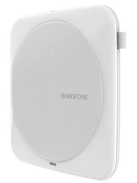 Зарядное устройство Borofone BQ1 AirSense Wireless Charger White цена и фото