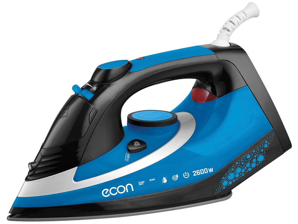 Утюг Econ ECO-BI2603 Black-Blue
