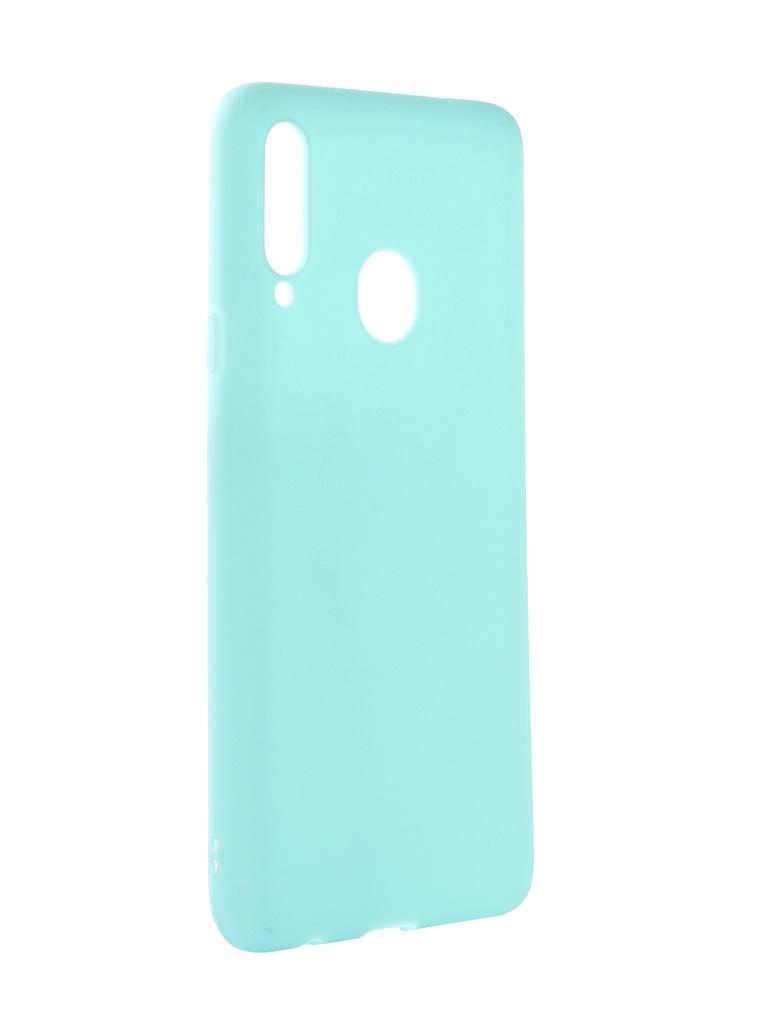 Аксессуар Чехол Zibelino для Samsung Galaxy A20S A207 2019 Soft Matte Turquoise ZSM-SAM-A20S-TQS