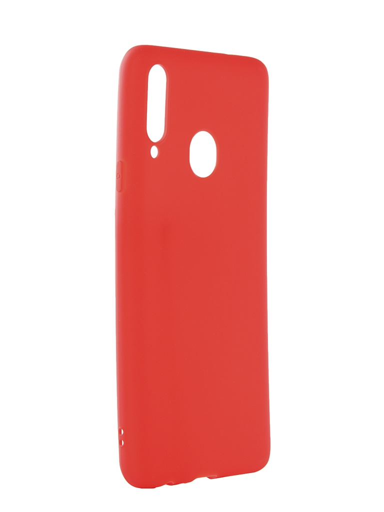 Аксессуар Чехол Zibelino для Samsung Galaxy A20S A207 2019 Soft Matte Red ZSM-SAM-A20S-RED