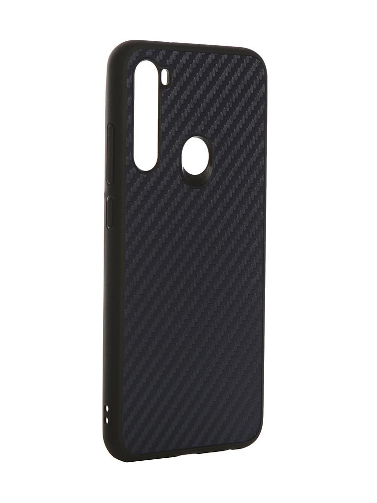 Чехол G-Case для Xiaomi Redmi Note 8 Carbon Dark Blue GG-1169.