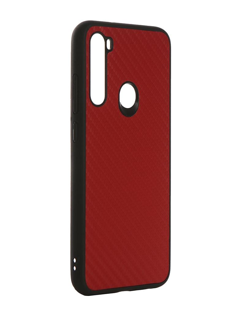 Чехол G-Case для Xiaomi Redmi Note 8 Carbon Red GG-1168