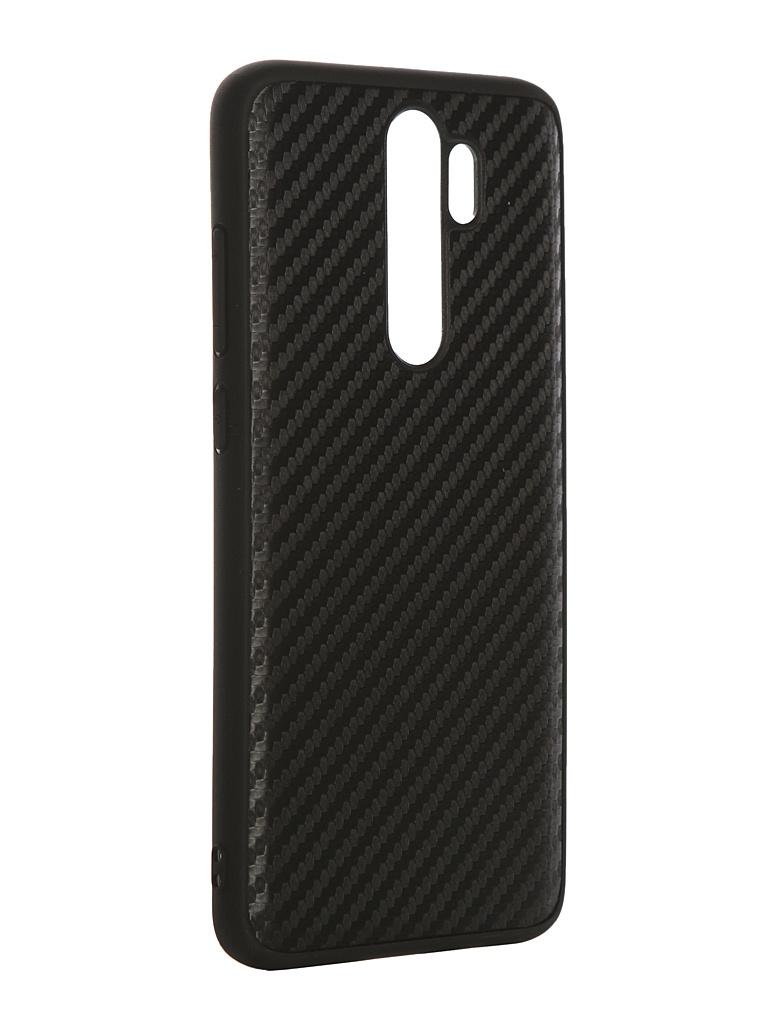 Чехол G-Case для Xiaomi Redmi Note 8 Pro Carbon Black GG-1170