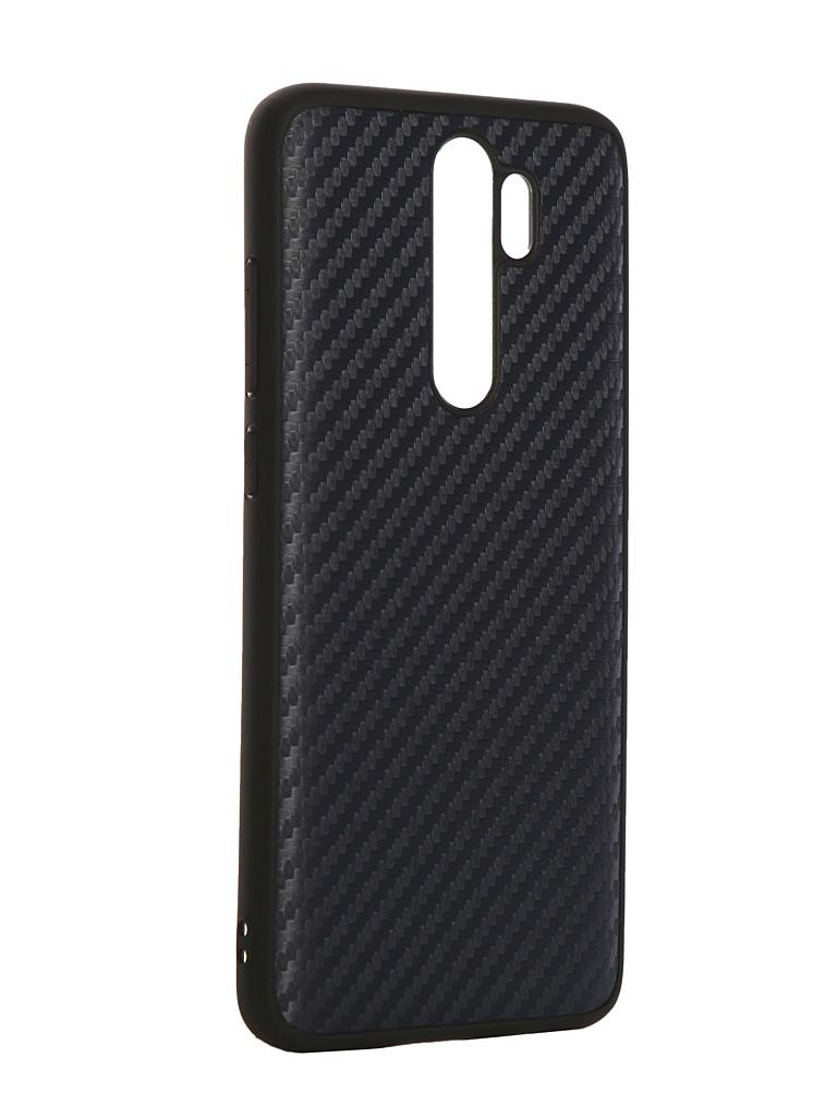 Чехол G-Case для Xiaomi Redmi Note 8 Pro Carbon Dark Blue GG-1172 фото