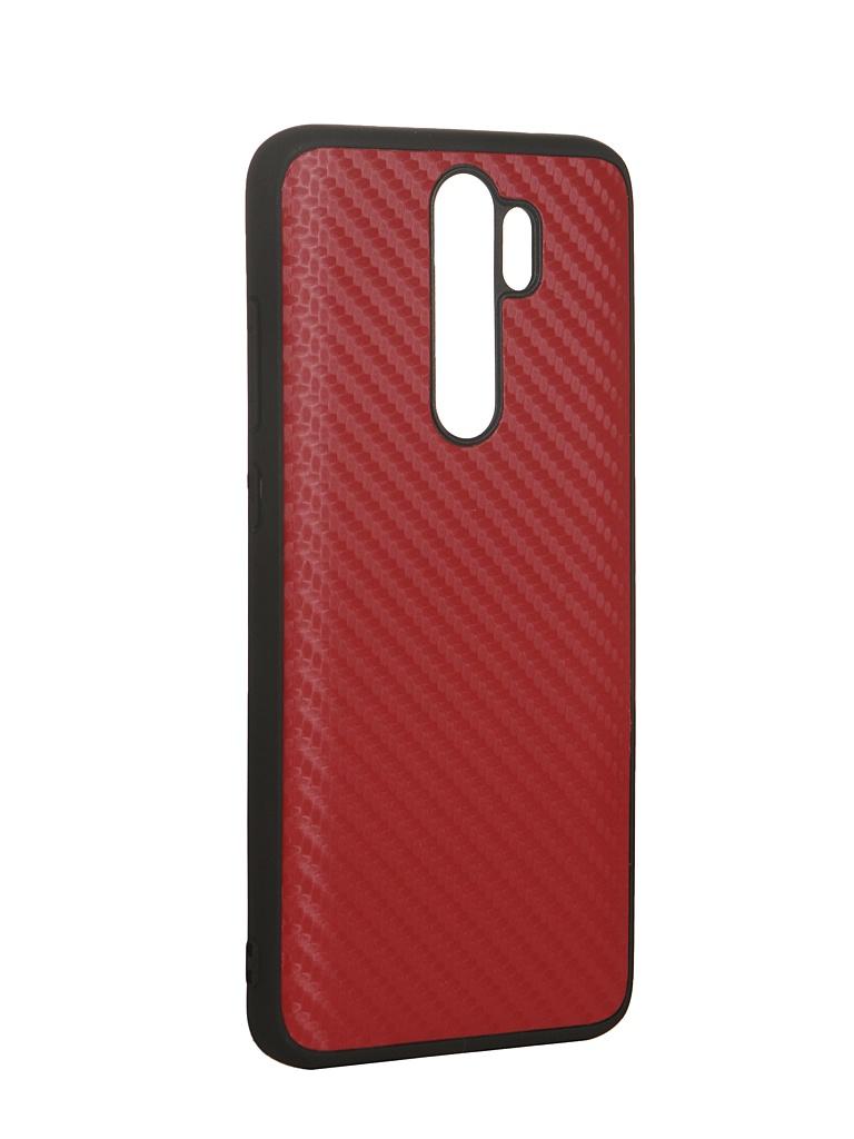 Аксессуар Чехол G-Case для Xiaomi Redmi Note 8 Pro Carbon Red GG-1171