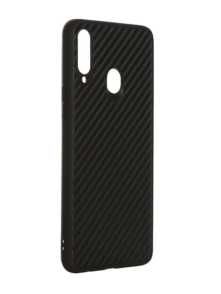 Аксессуар Чехол G-Case для Samsung Galaxy A20s SM-A207F Carbon Black GG-1179