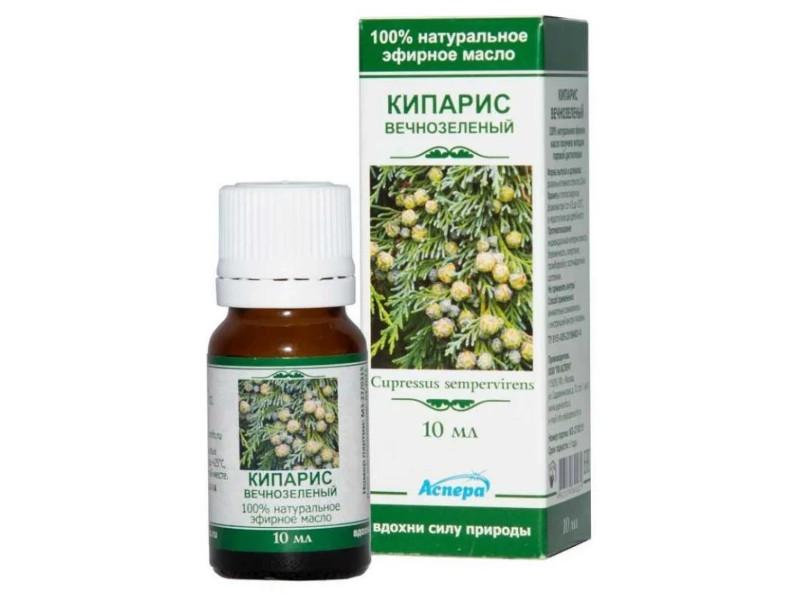 Масло эфирное Аспера Кипарис 10ml ПК2301С019